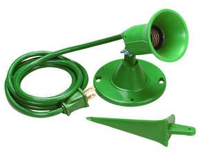 Ace  Green  Plug In  100, 150 and 50 watts Spotlight Kit  1 pk