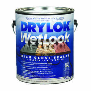 Drylok  WetLook  High Gloss  Clear  Water-Based Acrylic  Sealer  1 gal.