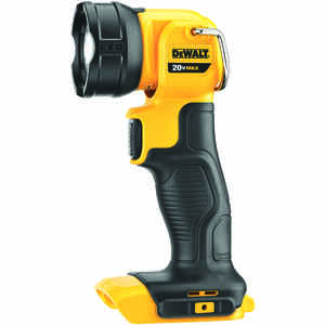 DeWalt  Max Lithium Ion  110 lumens Black/Yellow  LED  Work Light Flashlight
