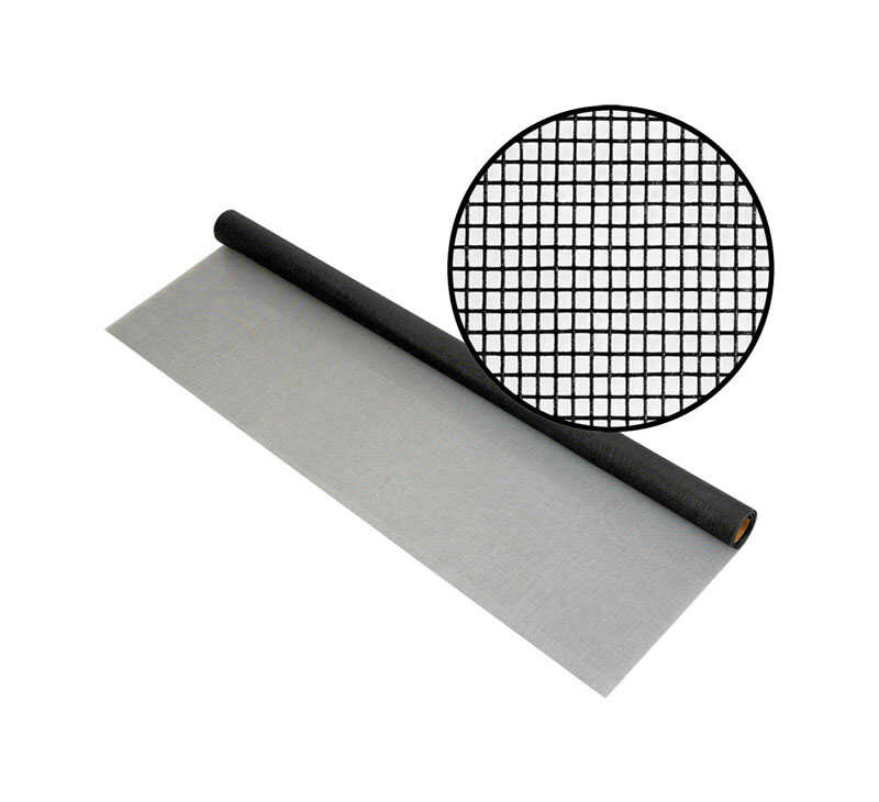 Phifer Wire  24 in. W x 7 ft. L Charcoal  Fiberglass  Screen Cloth