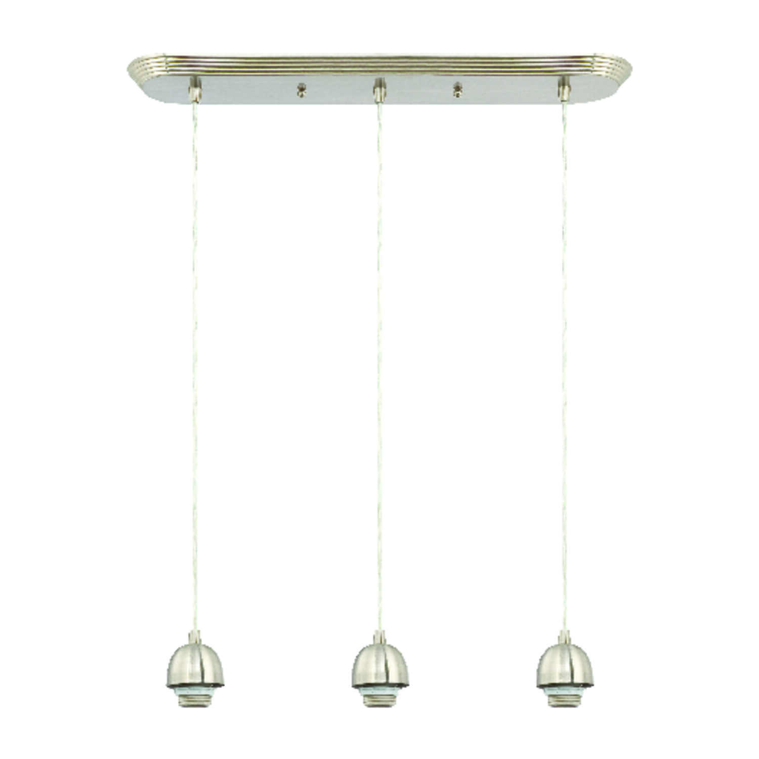 Westinghouse  Brushed Nickel  3 lights Mini Pendant Light