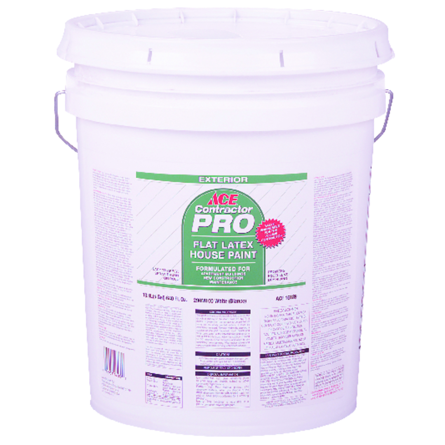 Ace  Contractor Pro  House Paint  5 gal.