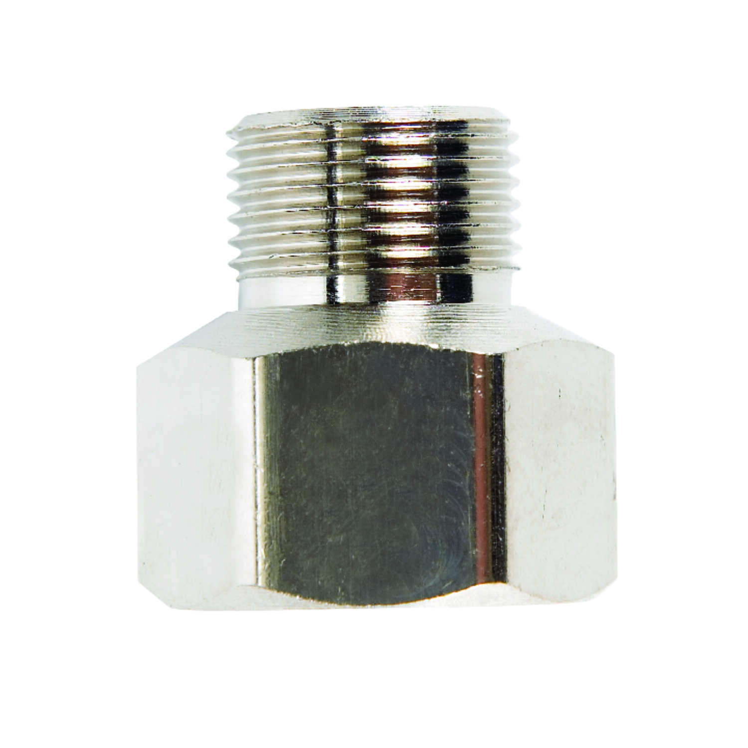 JMF  3/8 in. Female Flare   x 1/4 in. Dia. Male Compression  Brass  Adapter