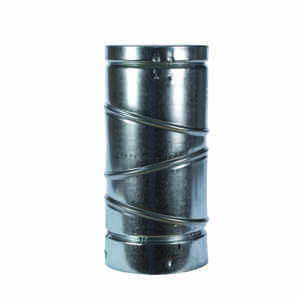 Selkirk  5 in. Dia. x 5 in. Dia. Adjustable 90 deg. Aluminum  Stove Pipe Elbow