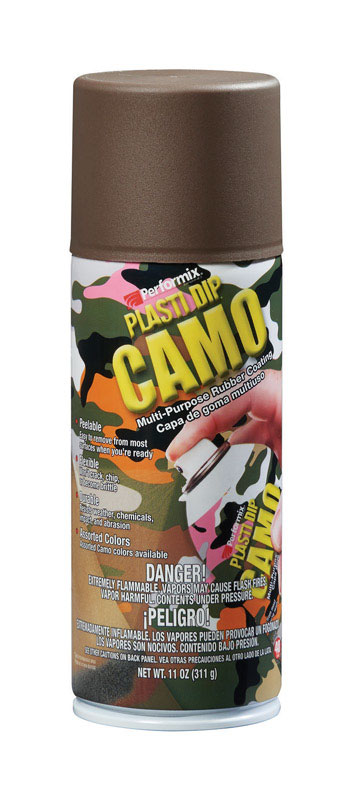 Plasti Dip  Flat/Matte  Camo Brown  11 oz  Multi-Purpose Rubber Coating