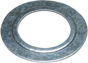Sigma Electric ProConnex  3/4 to 1/2 in. Dia. Zinc-Plated Steel  Reducing Washer  For EMT 2 pk