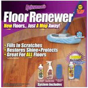 Rejuvenate  As Seen on TV  High Gloss  Floor Renewer Kit  Liquid  various oz.
