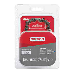 Oregon  AdvanceCut  14 in. 52 links Chainsaw Chain