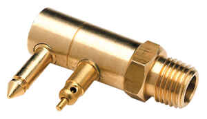 Seachoice  Brass  Male Fuel Connector  1 pk