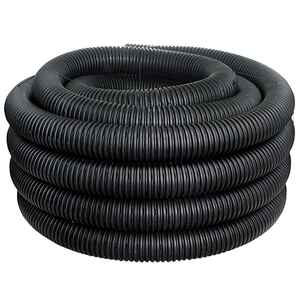 ADS  100 ft. L x 3 in. Dia. Polyethlene  Corrugated Drainage Tubing