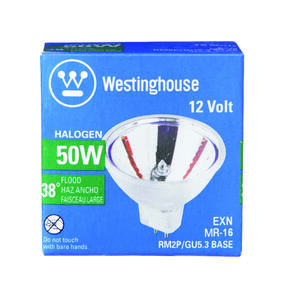 Westinghouse  50 watts MR16  Halogen Bulb  500 lumens Floodlight  1 pk