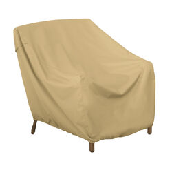 Classic Accessories  30 in. H x 36 in. W x 35 in. L Brown  Polyester  Chair Cover