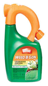 Ortho  Weed B Gon Plus  RTU Liquid  Crabgrass Control  32 oz.