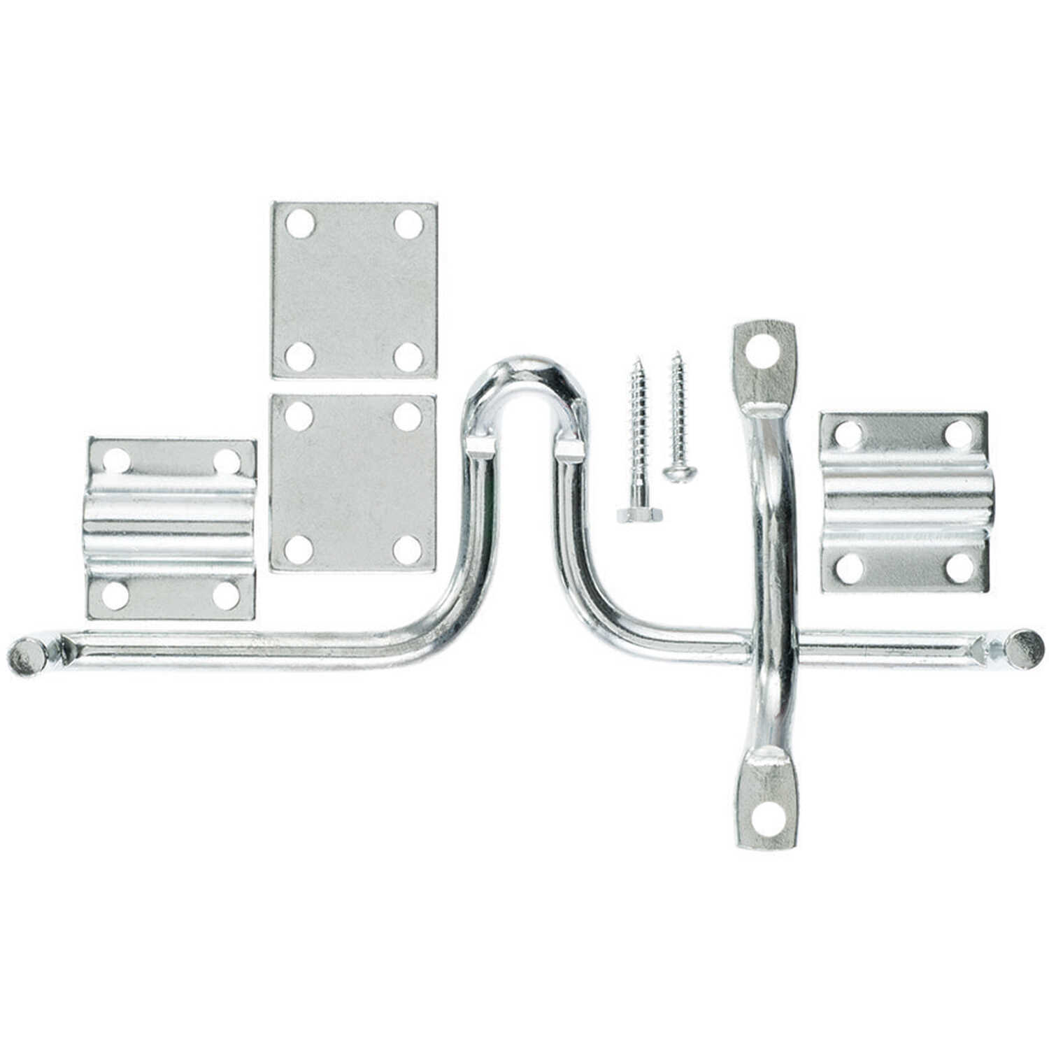 Ace  13.52 in. H x 4.75 in. W x 1.7 in. L Zinc-Plated  Metallic  Zinc  Slide Bolt Gate Latch