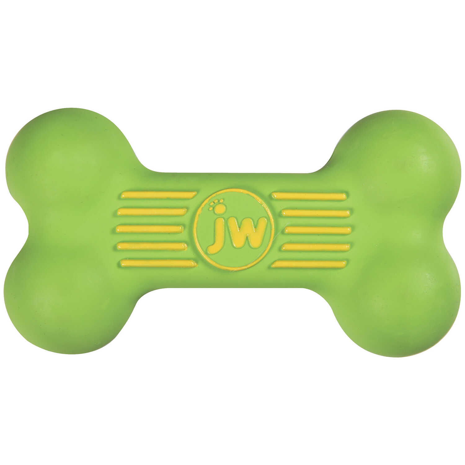 JW Pet  Assorted  ISqueak Bone  Rubber  Dog Toy  Small