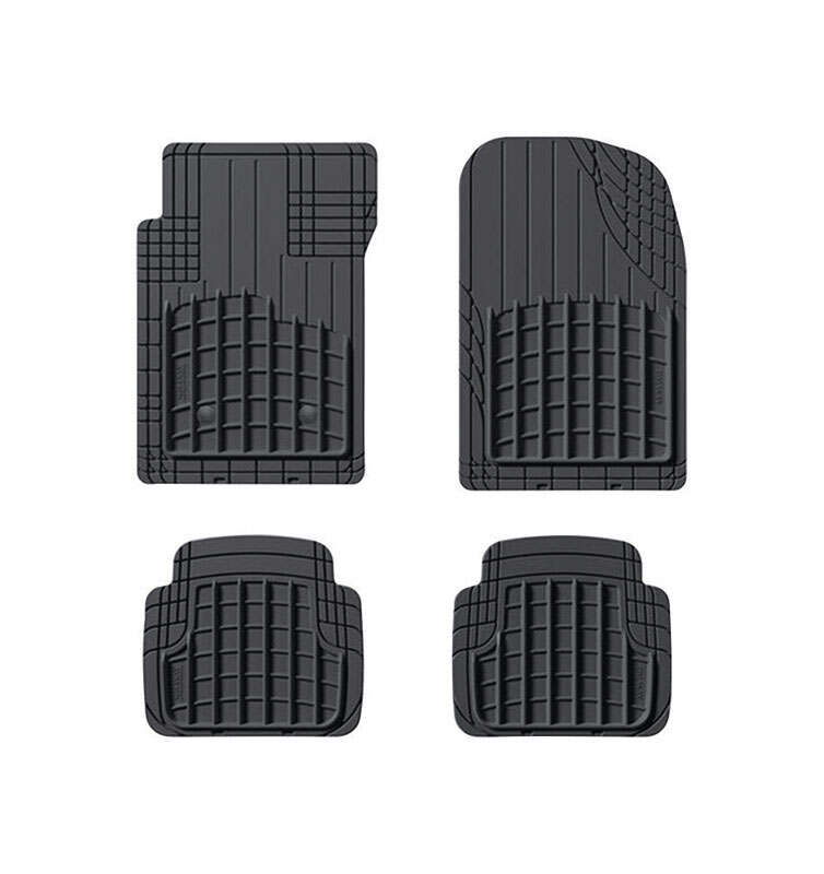 WeatherTech  AVM  Black  Rubber  Nonslip Floor Mat  6.0 in. L x 36.5 in. W