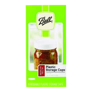 Ball  Regular Mouth  Canning Lid  8 pk