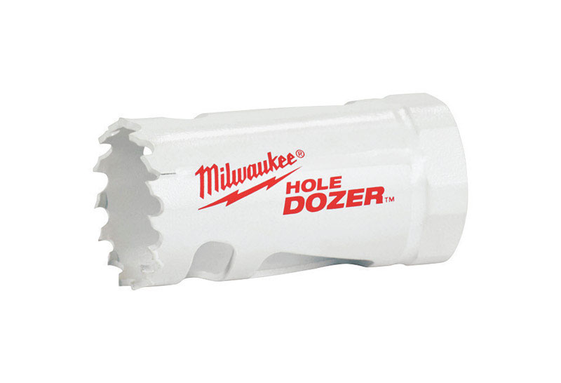 Milwaukee  Hole Dozer  1-3/4 in. L x 2 in. Dia. Hole Saw  1 pc. Bi-Metal