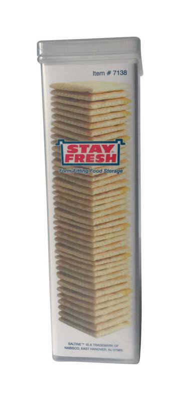Stay Fresh  Cracker Container  1 pk