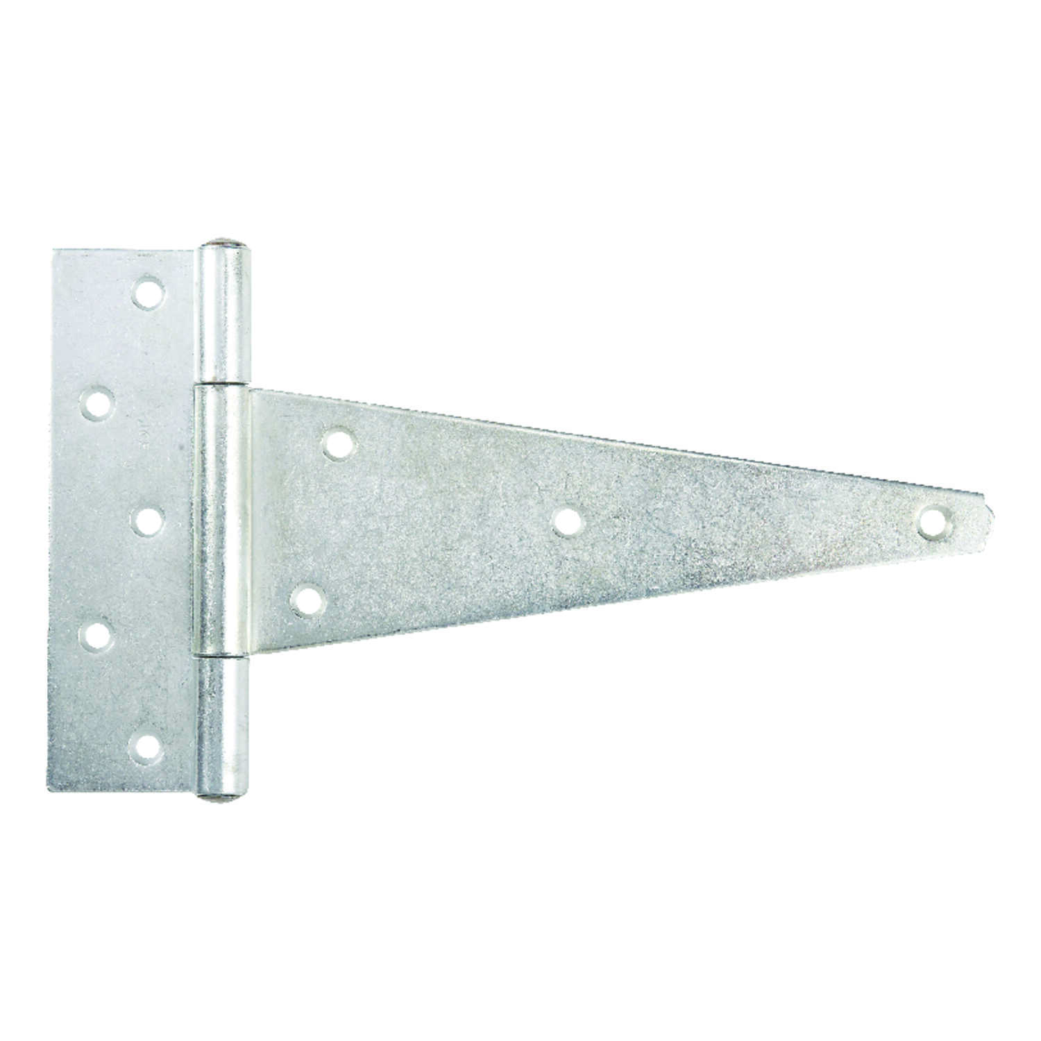 Ace  10 in. L Zinc-Plated  Steel  Heavy Duty T Hinge  1 pk