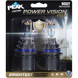 Peak  Power Vision Gold  High/Low Beam  Automotive Bulb  9007 HB5 65/55W