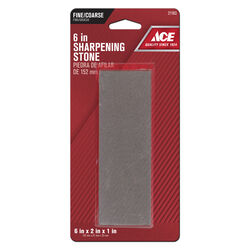 Ace 6 in. L Aluminum Oxide Sharpening Stone 60/80 Grit 1 pc.