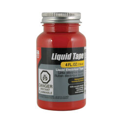 Gardner Bender  Liquid Tape  2 in. W x 2 in. L Red  Rubber  Liquid Electrical Tape  4 oz.