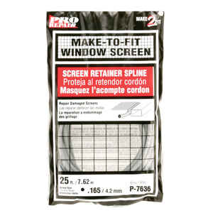Prime-Line  0.17 in. Dia. x 300 in. L Screen Spline