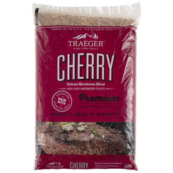Traeger  All Natural Cherry  Hardwood Pellets  20 lb.