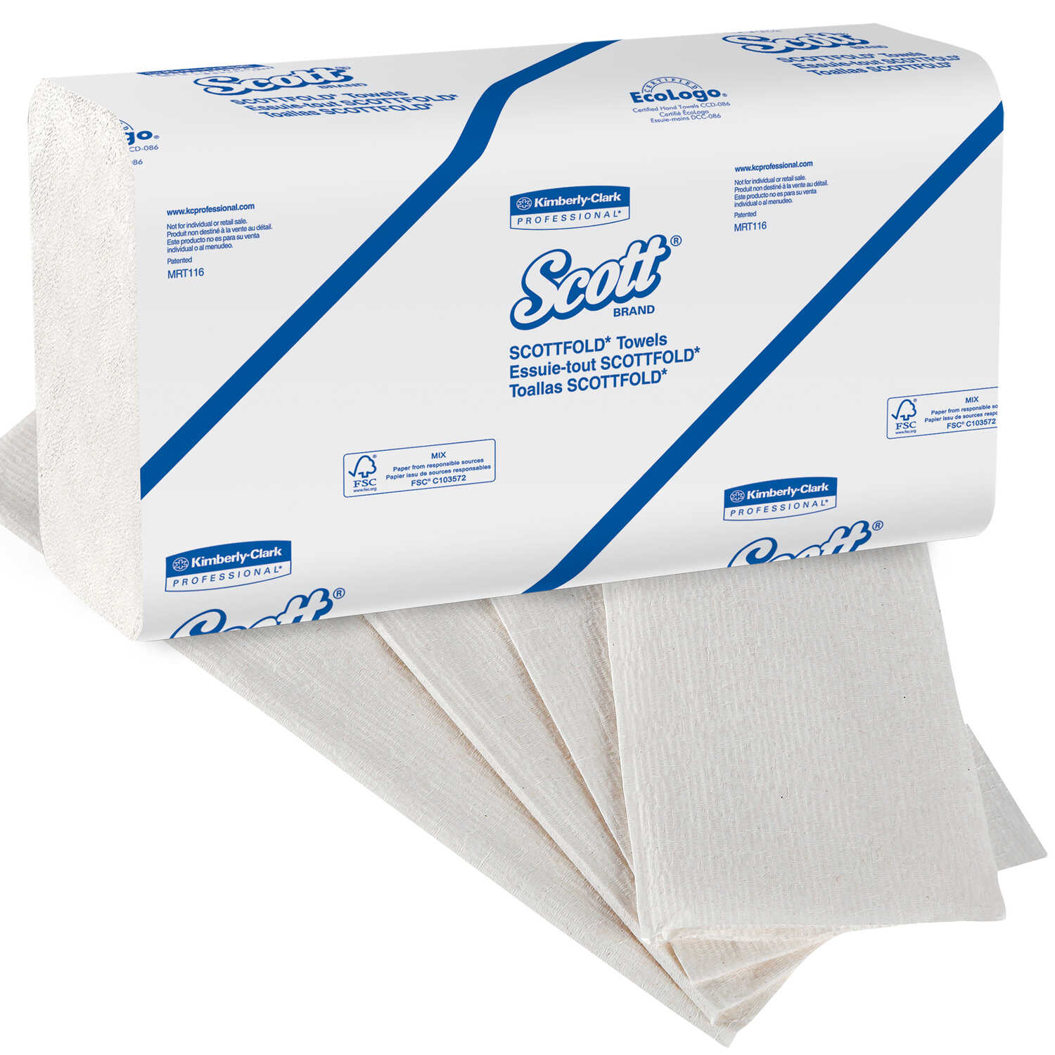Scott  Scottfold M Towel  175 sheet 1 Ply 25 pk