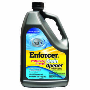 Enforcer  Professional Strength  Liquid  Drain Opener  128 oz.
