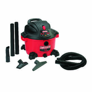Craftsman  12 gal. Corded  Wet/Dry Vacuum  5 hp 10 amps 120 volt Red  27 lb.