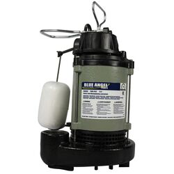 Wayne  Blue Angel  1/2 hp 5,220 gph Cast Iron  Vertical Float Switch  AC  Sump Pump