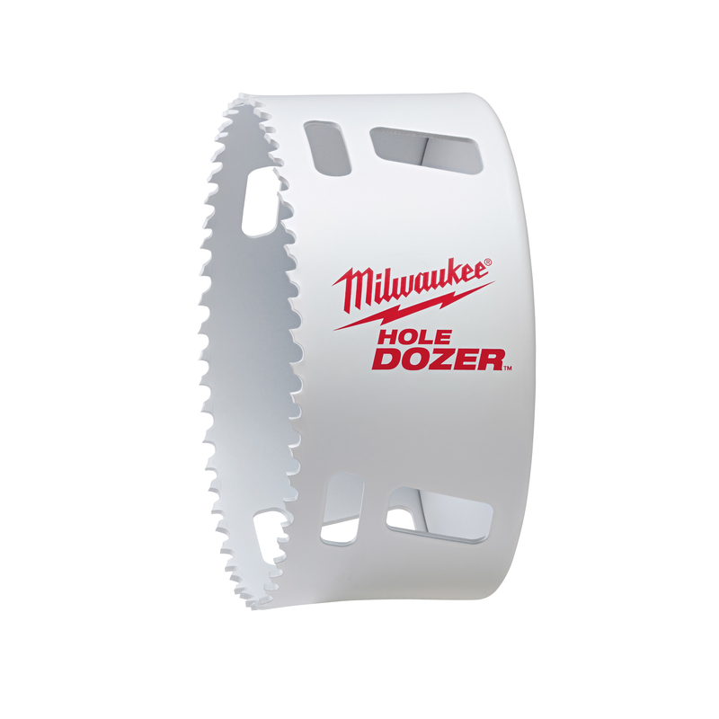 Milwaukee  Hole Dozer  1-5/8 in. L x 6 in. Dia. Hole Saw  1/4 in. 1 pc. Bi-Metal
