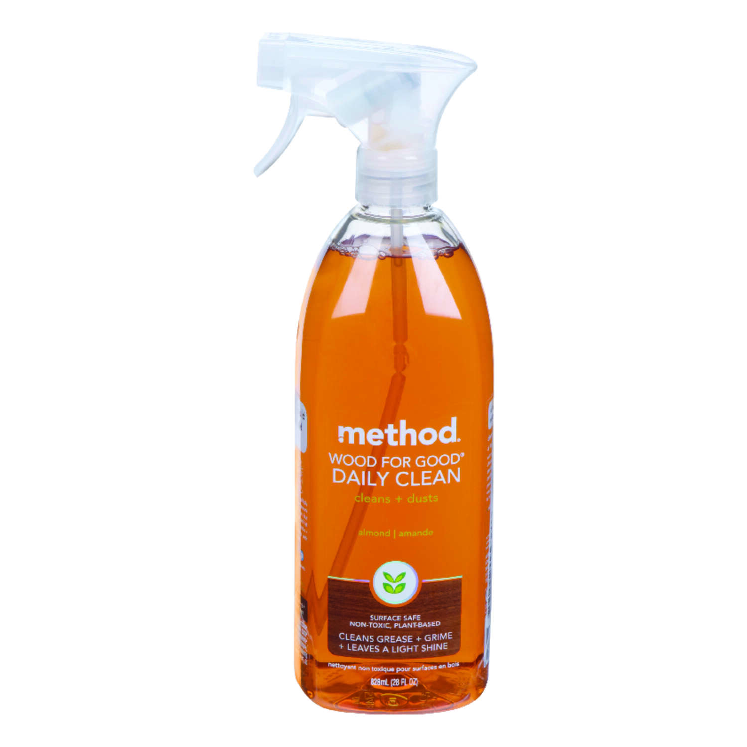 Method  No Scent Floor Cleaner  Liquid  28 oz.
