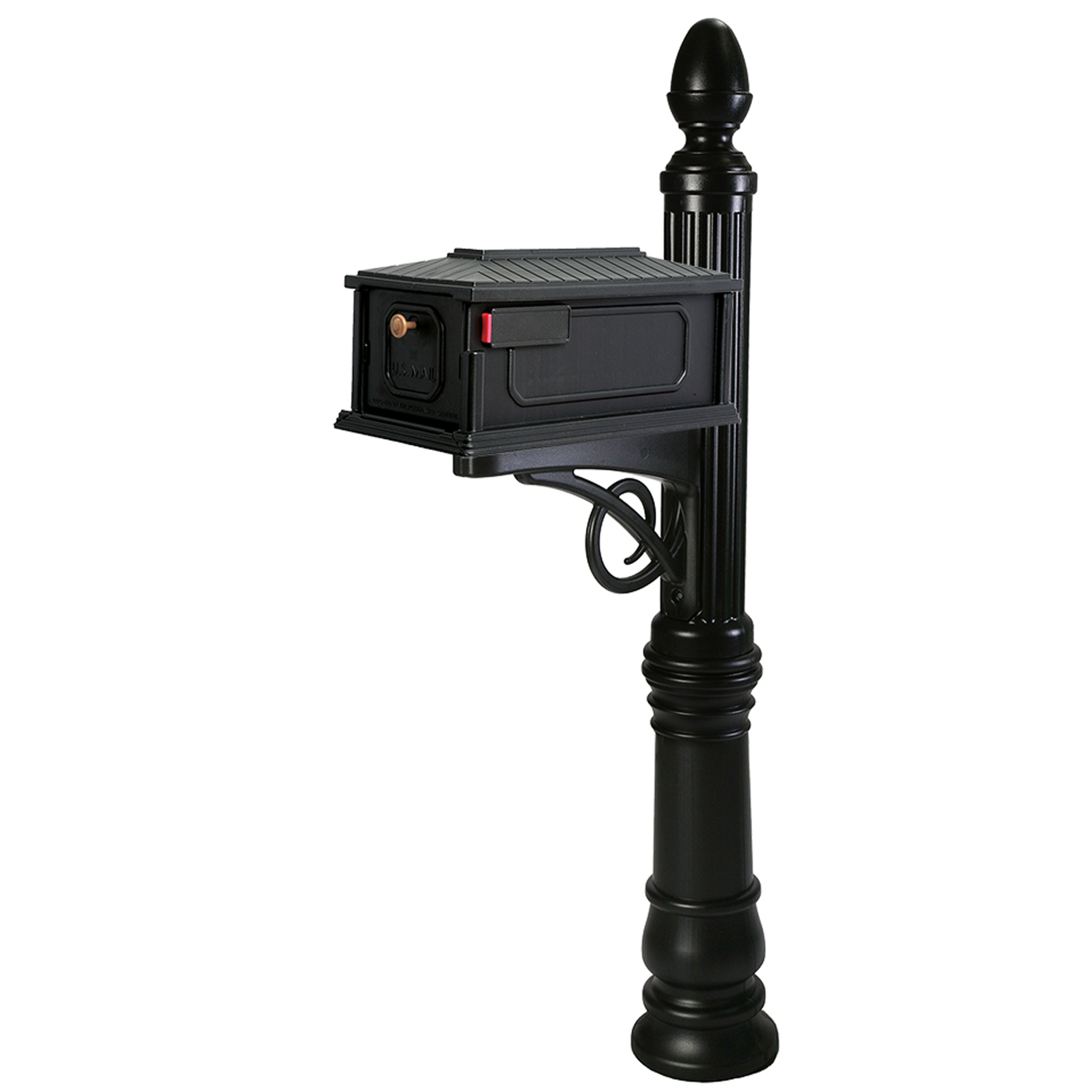 wall mount residential mailboxes. Gibraltar Stratford Post And Box Combo 62-3/4 In. H X 62 Wall Mount Residential Mailboxes