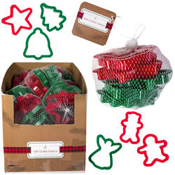 Regent Products Corp  Christmas Cookie Cutter Set  Assorted  6 pc.