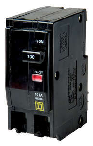 Square D  QO  100 amps Plug In  2-Pole  Circuit Breaker