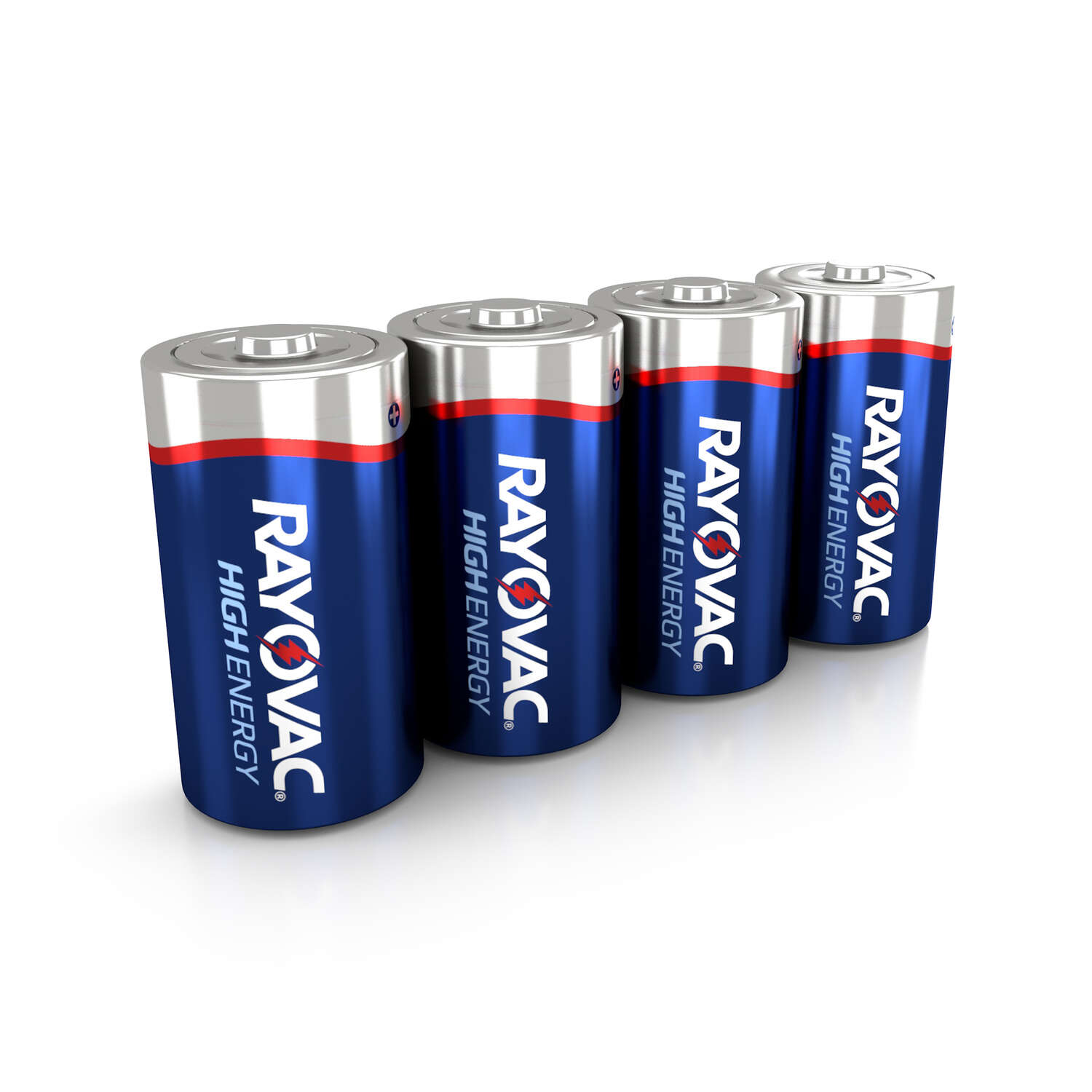 Rayovac  D  Alkaline  Batteries  4 pk Carded  1.5 volts