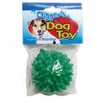 Diggers  Green  Spiked  Vinyl  Dog Toy  Large