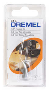 Dremel  1/8 in. Dia. x 1/8 in. Dia. x 2-3/4 in. L x 1/8 in.  High Speed Steel  2-Flute Corner Roundi