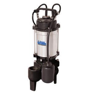 Basement Watchdog Professional  1/2 hp 6000 gph Cast Iron/Stainless Steel  Submersible Sewage Pump