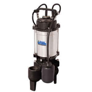 Basement Watchdog Professional  1/2 hp 6000 gph Stainless Steel  Submersible Sewage Pump