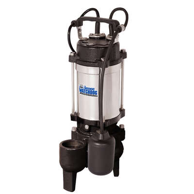 Basement Watchdog  1/2 hp 6000 gph Stainless Steel  Tethered Float  Sewage Pump