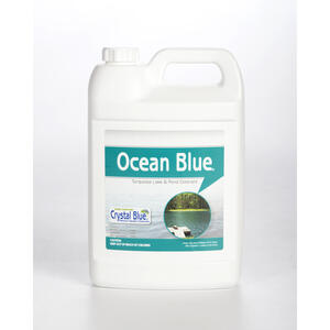 Crystal Blue  Ocean Blue  Lake and Pond Colorant  128 oz.