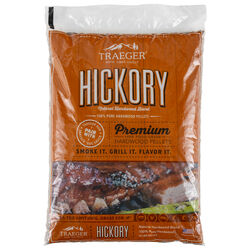 Traeger  All Natural Hickory  Wood Pellets  20 lb.