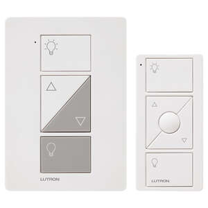 Lutron  Caseta  White  100 watts Plug-In  Dimmer Switch w/Remote Control  1