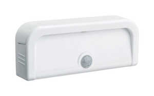 Mr. Beams  Motion-Sensing  Battery Powered  White  Area Light  Plastic