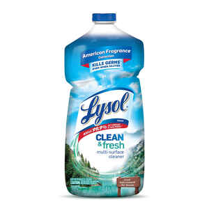Lysol  Clean and Fresh  Cool Adirondack Air Scent Antibacterial Disinfectant  40 oz. Liquid