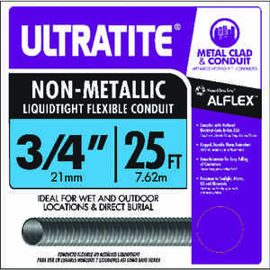 Southwire  3/4 in. Dia. x 25 ft. L Thermoplastic  For LFNC-B Flexible Electrical Conduit